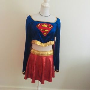 Rubies super woman size  medium two piece
